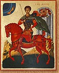 Saint Demetrios on Horse