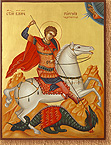 St. George the Martyr on Horse
